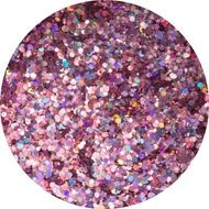 Glitter disco pink