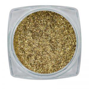 Glitter Chrome Sparkle Gold